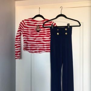 Kids Sailor Costume with Hat